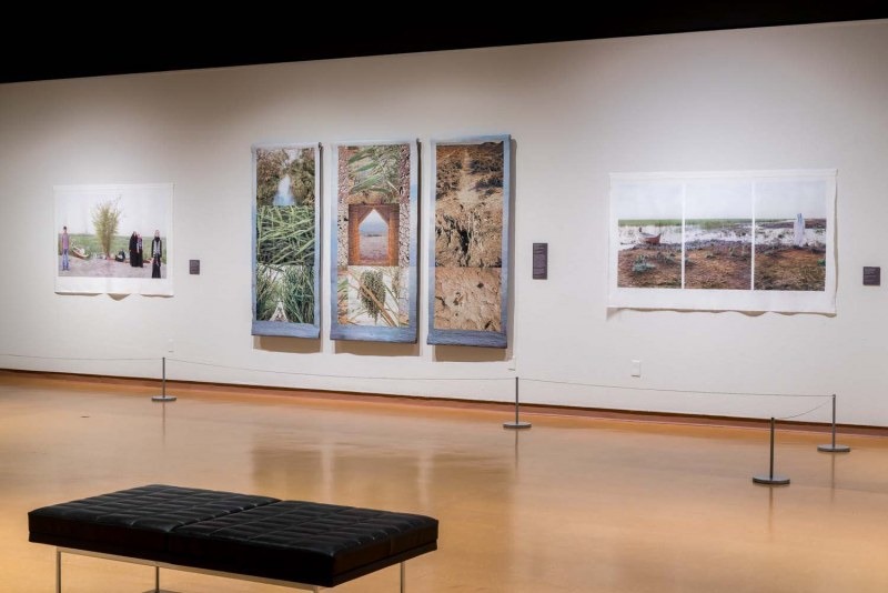 University of New Mexico Art Museum Eden Turned On Its Side  Eden in Iraq