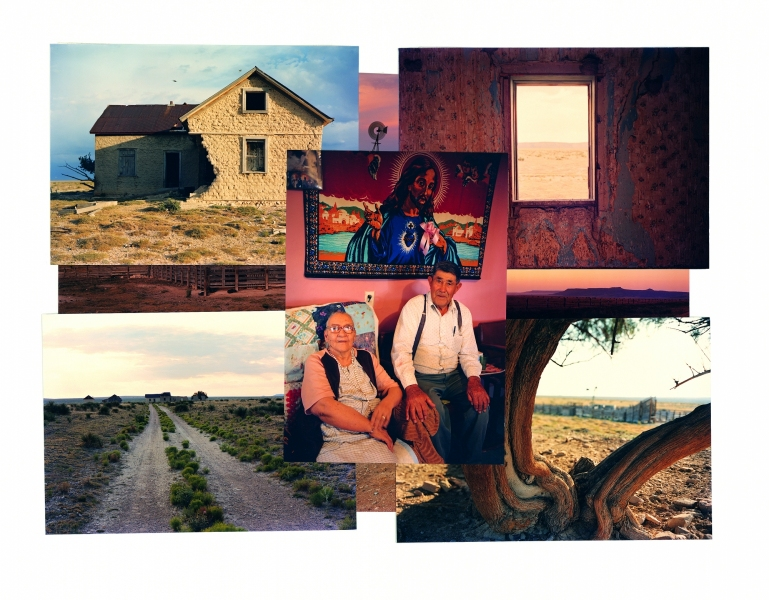 "FRED AND MARIA LUNA, PROGRESSO, NEW MEXICO 11 X 15""  Ektacolor Prints On 22x30 Paper Mount, 1983-84"
