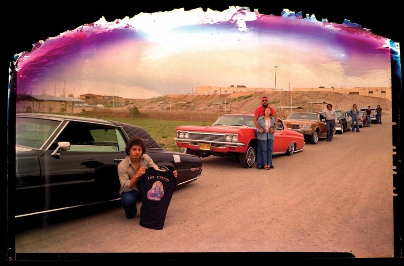 LOS UNIDOS CAR CLUB  (in lab fire burned neg), ESPANOLA, NEW MEXICO 1980