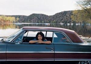 Peggy Martinez, '64 Chevy Two-Tone, Santa Clara Lake