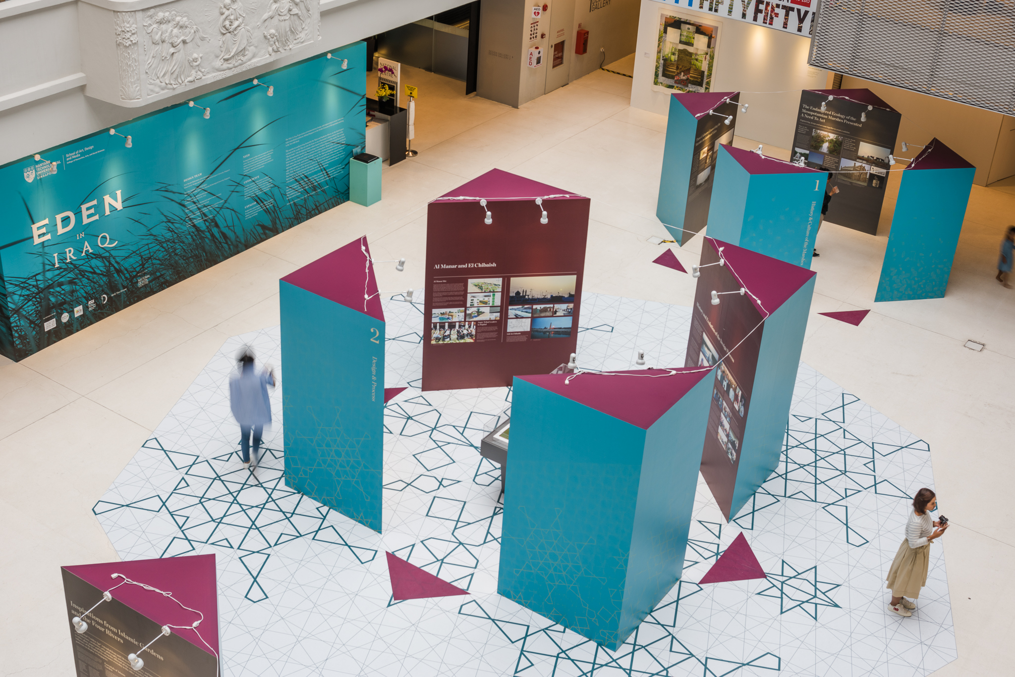 Eden In Iraq Exhibition, National Design Centre Singapore